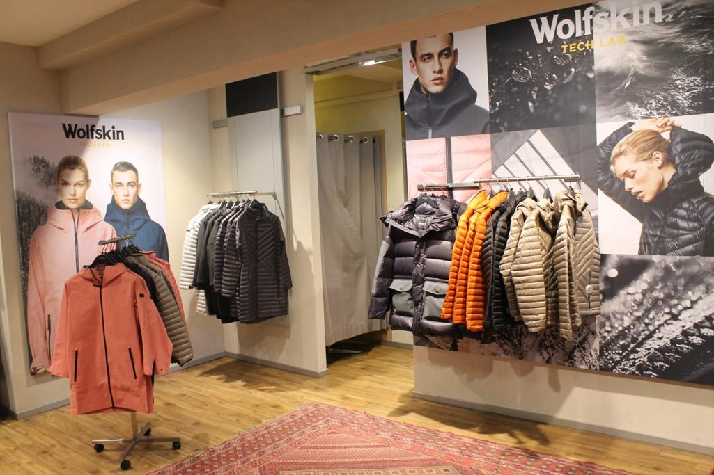 Jack Wolfskin Store (FOTO Thomas Baum)